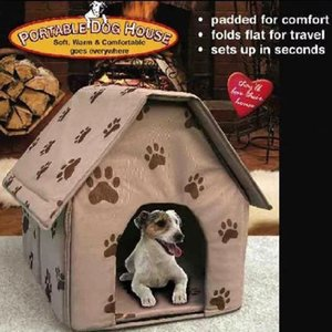 犬用 折りたたみできる犬小屋 持ち運び簡単ハウス