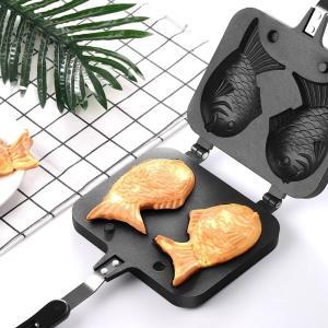 自分で作る鯛焼き器 鉄板 たい焼き パンケーキ 大判焼き オリジナルのお菓子 おやつ作りに