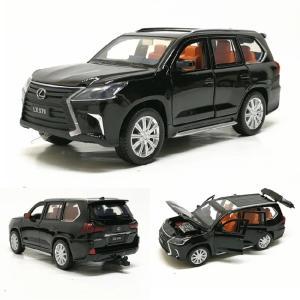 おもちゃミニカー レクサスLX570 1:32 合金ダイキャストメタル玩具 車 サウンドライト 6オープンドア 子供プレゼント オブジェ 飾り