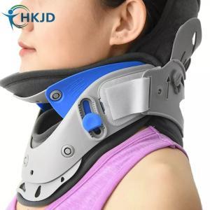 首 頸椎の固定安定目的サポーターです。  首に巻き付けるタイプではなく、首(前側)の部分が開いている...