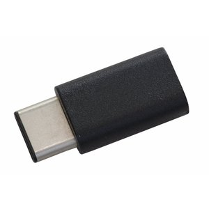本製品を接続したデータ転送対応microUSBケーブルをパソコンに接続して充電やデータ転送、micr...
