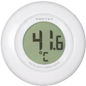 ドリテック デジタル湯温計 ホワイト O-227WT