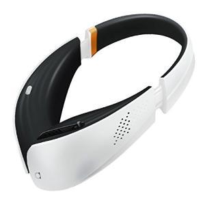【PM2.5対応】 ポータブル空気清浄機 第二のマスク ヘッドフォンスタイル ホワイト×ブラック ARIA-WH (230)|ddshop