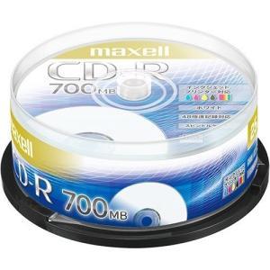 マクセル データ用 CD-R 700MB 48倍速 プリンタブルホワイト 25枚スピンドルケース C...