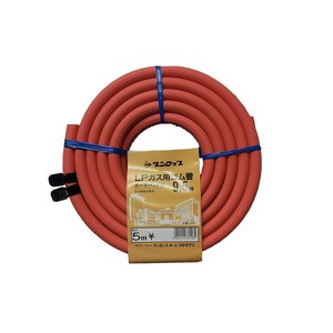 ダンロップ LPガス用 ゴム管内径9.5mm長さ5m 3195|ddshop