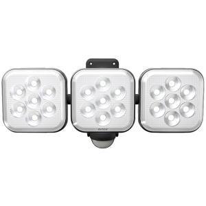 ムサシ RITEX フリーアーム式LEDセンサーライト(8W×3灯) 「コンセント式」 防雨型 LE...