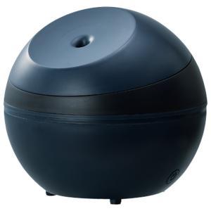アピックス 超音波式 アロマ加湿器 ブリティッシュネイビー AHD-064-NV