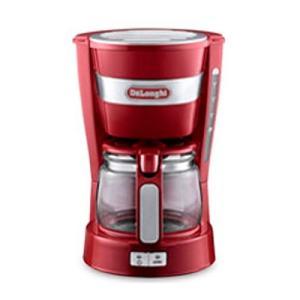 デロンギ コーヒーメーカー レッド ICM14011J-R (820)|ddshop