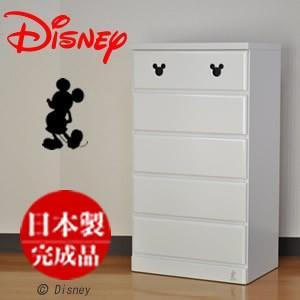 タンス ディズニー 収納チェスト チェスト ディズニー 幅60cm 5段 エスター キッズチェスト 5段 たんす 日本製|deaini-kansya