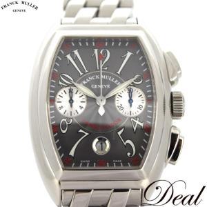 FRANCK MULLER フランクミュラー コンキスタドール クロノ 8005CC 自動巻 メンズ 腕時計