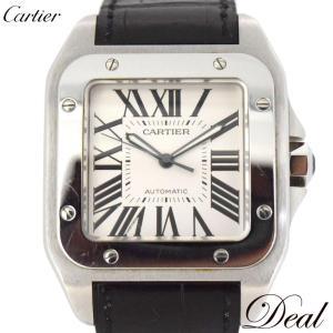 Cartier カルティエ サントス 100LM W20076X8 自動巻 メンズ 腕時計