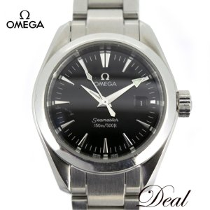 finest selection 7d444 7b8e8 オメガ シーマスター アクアテラ 2577.50 OMEGA レディース 腕時計