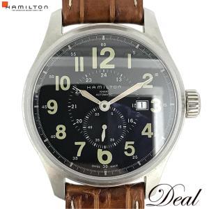 ハミルトン カーキ オフィサー H70655733 メンズ 腕時計
