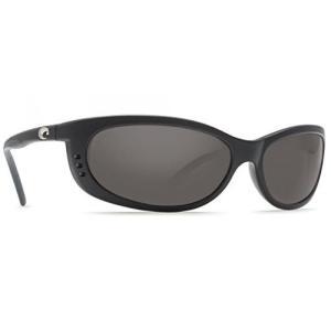 サングラス Costa Del Mar Sunglasses - Fathom- Plastic / Frame: Matte Black Lens: Polarized Gray 580P Polycarbonate 輸入品|dean-store