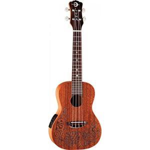 ウクレレ Luna Guitars MO EL Concert Acoustic-Electric Ukulele 輸入品|dean-store