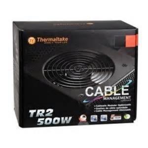サーマルテイク PC用品 Tr500 - 500w Power Supply 輸入品