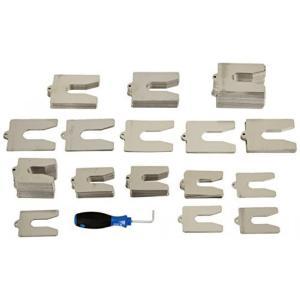 フルーク Fluke 4551330 Shims-Optional Accessory for Fluke 830 Laser Alignment Tool, Yellow 輸入品|dean-store