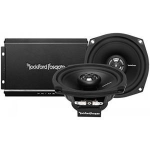 ロックフォード Rockford Fosgate R1-HD2-9813 140W 2-Channel Harley Motorcycle Amp+Speaker System 輸入品 dean-store