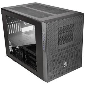 サーマルテイク PC用品 Thermaltake Core X9 Black E-ATX Stackable Tt LCS Certified Cube Chassis CA-1D8-00F1WN-00 輸入品 dean-store