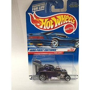 【送料無料】ミニカー HOT WHEELS 1999 FIRST EDITIONS FIAT 500...