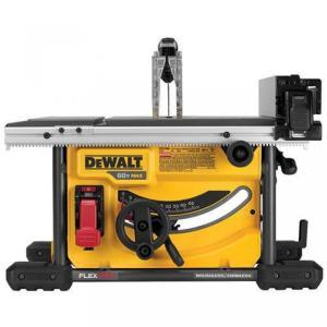 【送料無料】デウォルト DEWALT DCS7485B FLEXVOLT 60V MAX Bare Tool Table Saw, 8-1/4