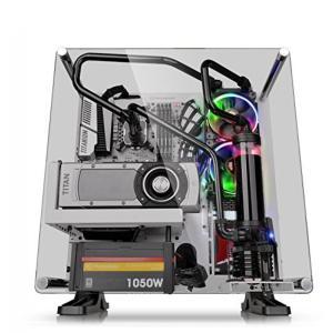 サーマルテイク PC用品 Thermaltake Core P3 Tempered Glass Upgrade Kit AC-042-ONONAN-C1 輸入品 dean-store
