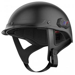 セナ バイク用インカム Sena Cavalry Half Helmet with Intercom - Matte Black 輸入品|dean-store