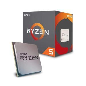 送料無料 AMD CPU Ryzen 5 2600X with Wraith Spire coole...