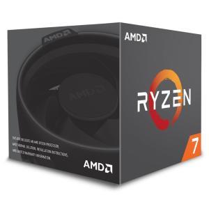送料無料 AMD CPU Ryzen 7 2700 with Wraith Spire (LED) ...