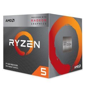 送料無料 AMD Ryzen 5 3400G with Wraith Spire cooler 3....