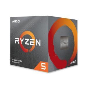送料無料AMD Ryzen 5 3600X With Wraith Spire cooler (6C...
