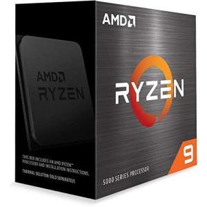 送料無料AMD Ryzen 9 5900X cooler なし 3.7GHz 12コア / 24スレッド 64MB 105W 100-100000061WOF [三年保証] 海外リテール品 沖縄離島送料別途)の画像