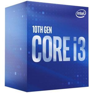 送料無料 Intel CPU i3-10100F BOX BX8070110100F LGA1200 / 4コア8スレッド / ベースクロック 3.6GHz【BOX】 (沖縄離島送料別途)の画像