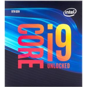 送料無料 Intel CPU Core i9-9900K デスクトッププロセッサー 8コア 最大5.0GHz アンロック LGA1151 300シリーズ 95W【紙箱版】 (沖縄離島送料別途)の画像