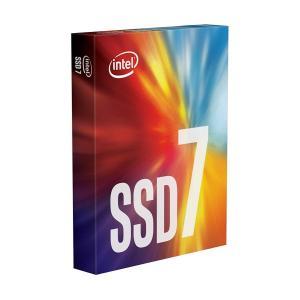 Intel インテル SSD 760p M.2 PCIEx4 256GB モデル SSDPEKKW256G8XT 海外リテール品 の商品画像|ナビ