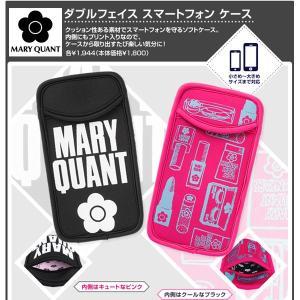 未使用品[メール便送料無料]MARY QUANTマリークヮント コスメ柄携帯ケース/6.1インチ以下携帯対応/約W9.5×H17cm/ノベルティ(代引き不可)|dear-i