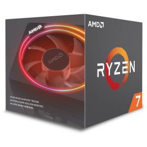 箱難有品送料無料 AMD CPU Ryzen 7 2700X with Wraith Prism c...