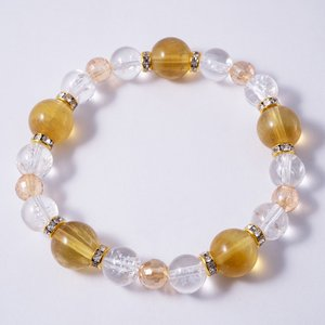 ゴールデンカルサイト ブレスレット 〜富の増幅〜 天然石|dear-yhstore