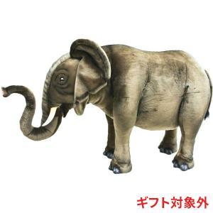 HANSA ハンサ ゾウ 3007 リアル 動物 ぬいぐるみ ギフト対象外 クリスマス プレゼントの商品画像|ナビ