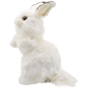 シロウサギ うさぎ 30 動物 ぬいぐるみ HANSA ハンサ 夏休み 帰省 プレゼント お土産 dearbear 02