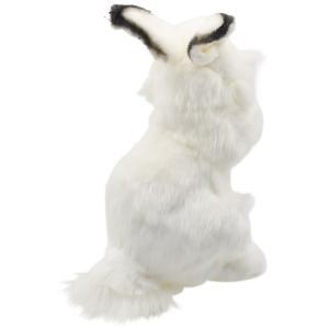シロウサギ うさぎ 30 動物 ぬいぐるみ HANSA ハンサ 夏休み 帰省 プレゼント お土産 dearbear 03