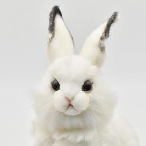シロウサギ うさぎ 30 動物 ぬいぐるみ HANSA ハンサ 夏休み 帰省 プレゼント お土産 dearbear 04