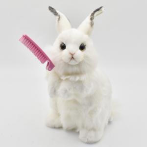 シロウサギ うさぎ 30 動物 ぬいぐるみ HANSA ハンサ 夏休み 帰省 プレゼント お土産 dearbear 08