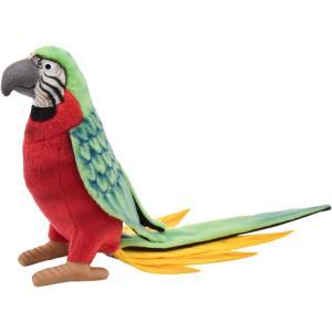 HANSA ハンサ オウム レッド 鳥 3326 リアル 動物 ぬいぐるみ プレゼント ギフト 母の日 父の日|dearbear