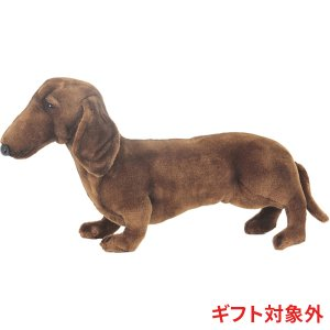 HANSA ハンサ ミニチュアダックスフンド 犬 3876 ギフト対象外 リアル 動物 ぬいぐるみ プレゼント ギフト 母の日 父の日|dearbear
