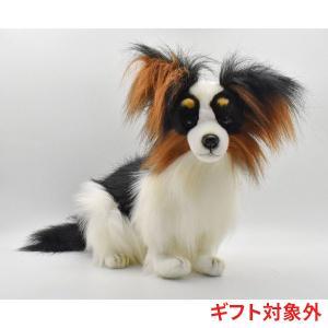 パピヨン 犬 53 リアル 動物 ぬいぐるみ HANSA ハンサ ギフト対象外|dearbear