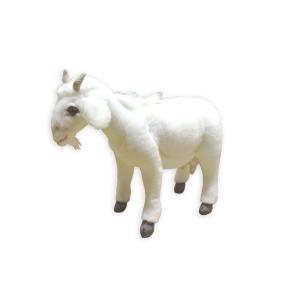 HANSA ハンサ シロヤギ 4151 リアル 動物 ぬいぐるみ プレゼント ギフト 母の日 父の日|dearbear
