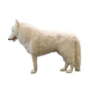 ホッキョクオオカミ 108 ぬいぐるみ クリスマス プレゼント HANSA ハンサ|dearbear|02