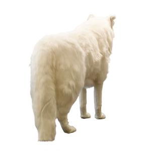 ホッキョクオオカミ 108 ぬいぐるみ クリスマス プレゼント HANSA ハンサ|dearbear|03