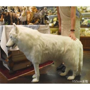 ホッキョクオオカミ 108 ぬいぐるみ クリスマス プレゼント HANSA ハンサ|dearbear|07